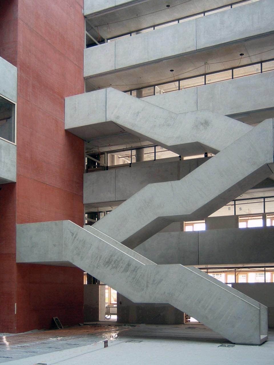 Campusbebauung FH Frankfurt